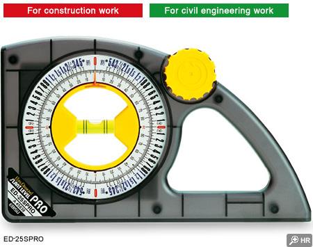 SLANT LEVEL PRO|Angle Measureing Levels|PRODUCT CATALOG|Ebisu Co